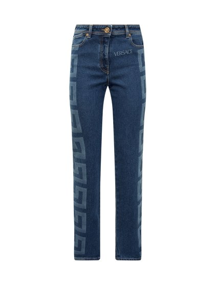Jeans with Logo image