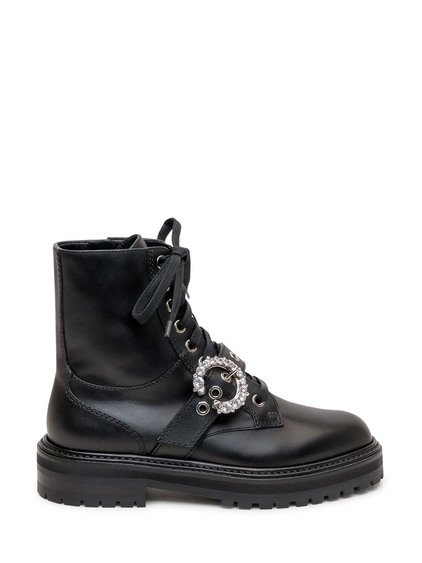 Cora Flat Ankle Boots image