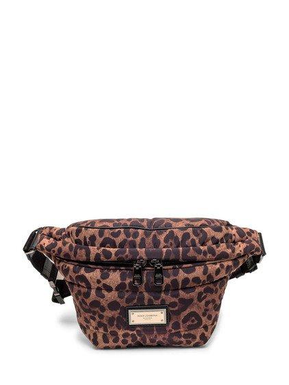 Leopard Print Belt Bag image