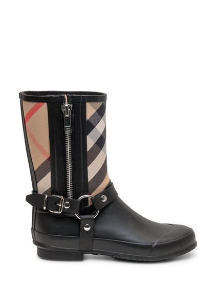 Rubber Boot with Vintage Check image