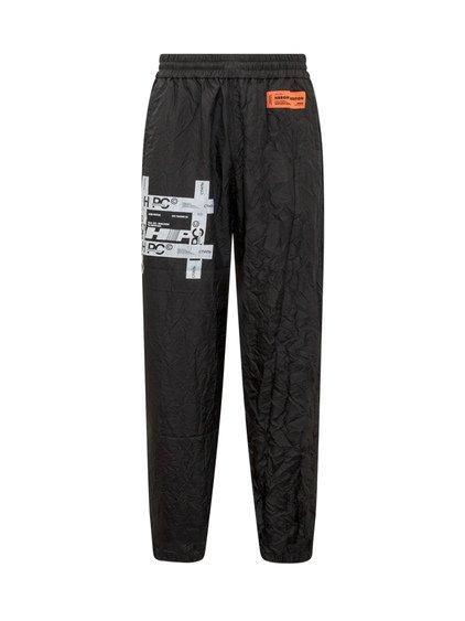 TYVEK Print Crinkled Trousers image
