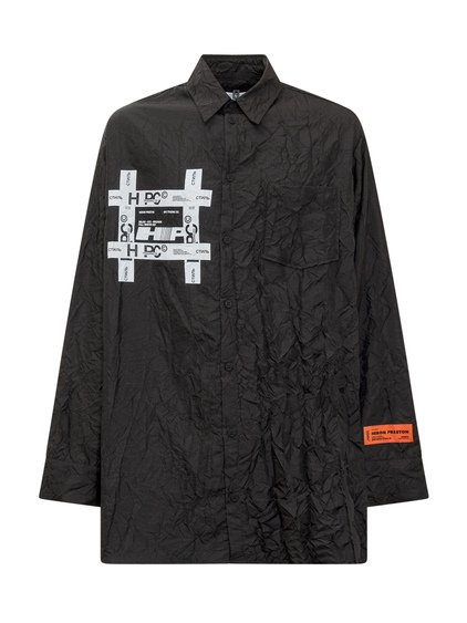 Tyveck Print Crinkle Shirt image