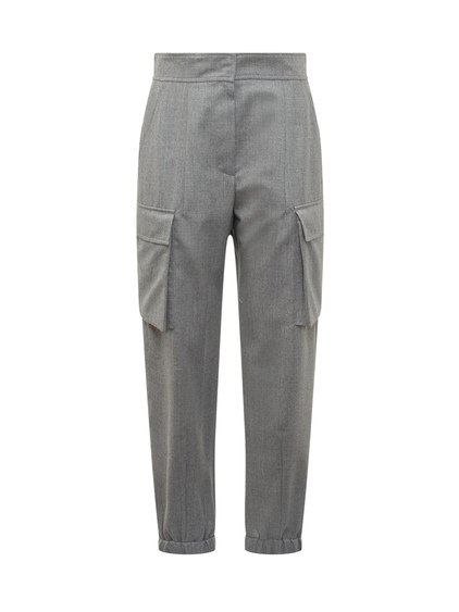 Trouser with Zip image