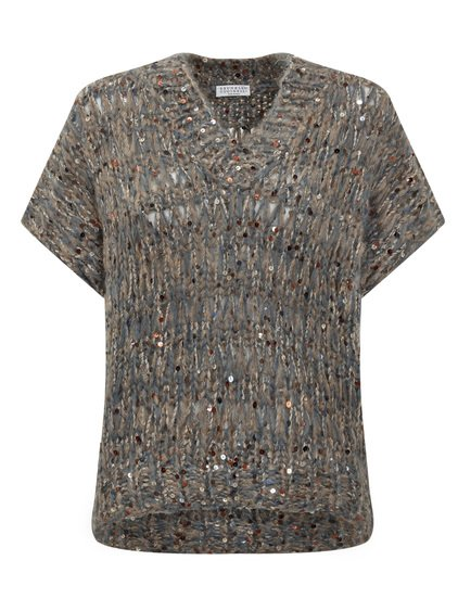 Short Knitwear Dazzling Tweed image