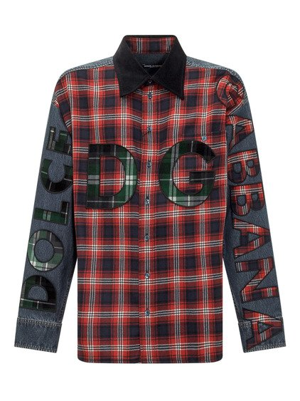 Jeans and Plaid Shirt image