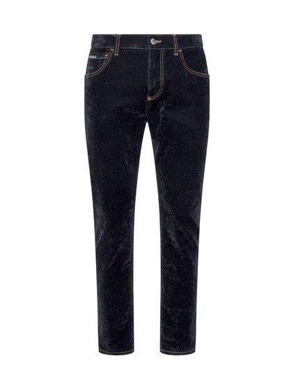 Trousers in Velvet image