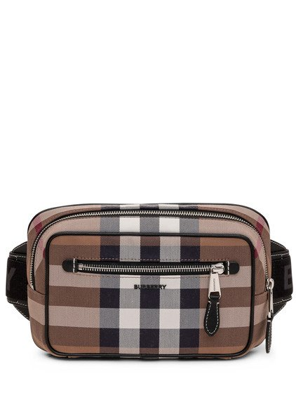 Pouch with Tartan Pattern image
