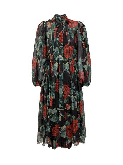 Floreal Chiffon Dress image