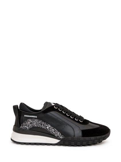 Sneaker Velour and Glitter image