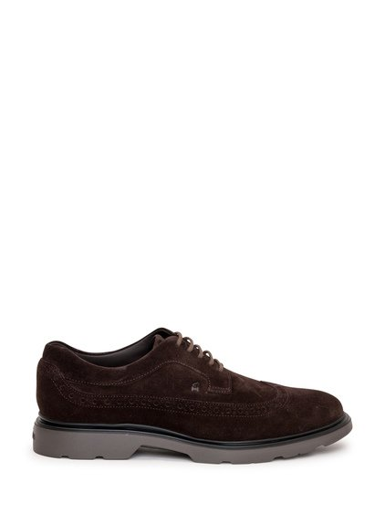 Lace-up H393 Derby Perforations image