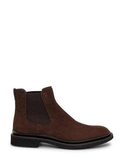 Suede Leather Ankle Boot image