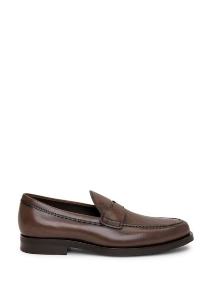Formal Moccasin in Leather image