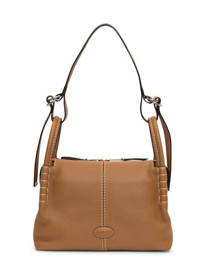 Boston Bag in Leather Small image