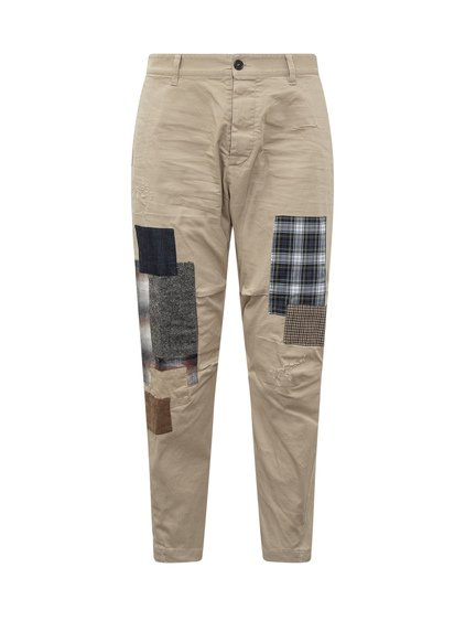 Trousers with Patch Fabrics image