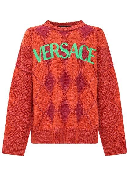 Knitwear with Logo Argyle image