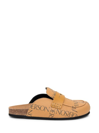 Loafer Mules with Logo image