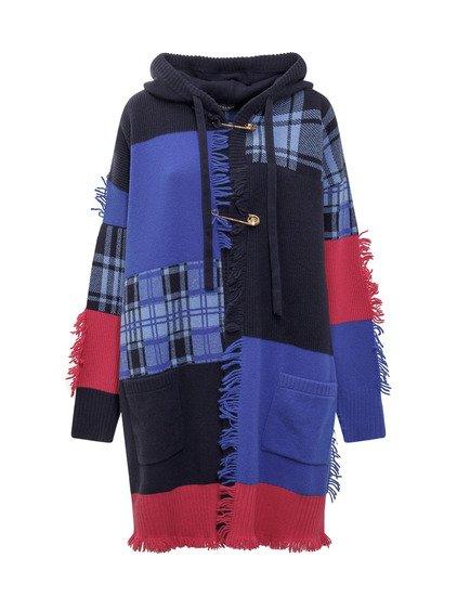 Knit Outwear Tartan Jacket image