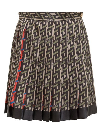 Pleated Skirt with Logo image
