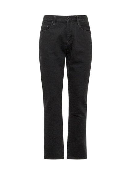 Diagonal Pocket Skinny Jeans image