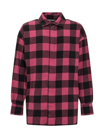 Flannel Curved Logo Shirt image