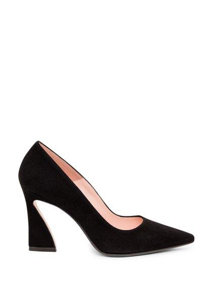 Suede Shoe with  Heel image