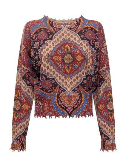 Crewneck Knitwear with Print image