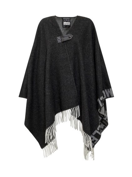 Cape Cape with Fringes and Logo image