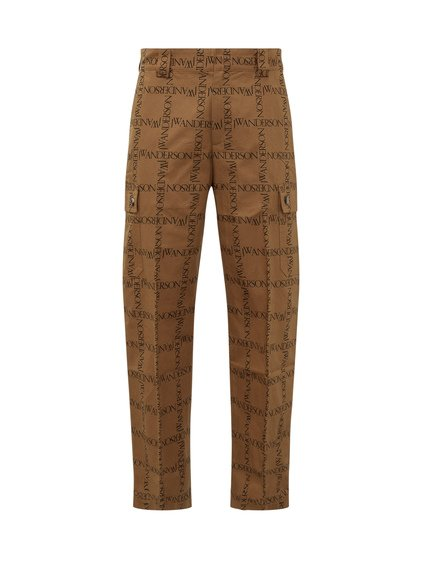 Straight Trousers with Logo image