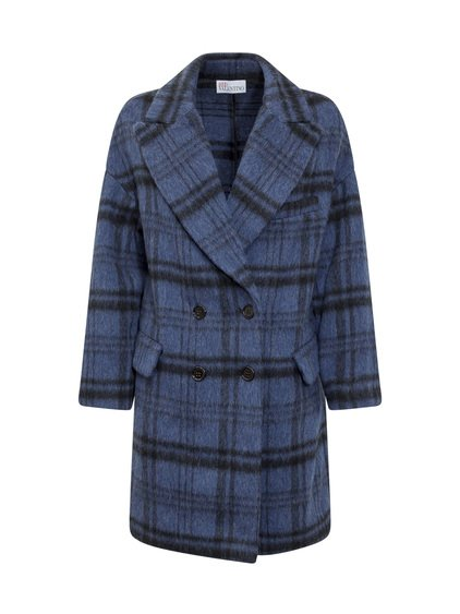 Wool Check Coat image
