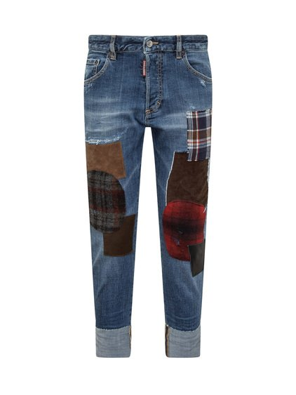 Skinny Jeans with Patch image