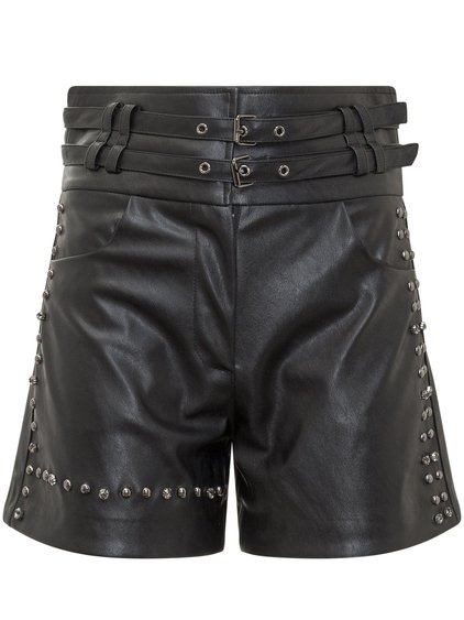 Synthetic Leather Shorts image