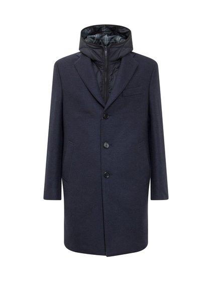 Coat with Gilet with Hood image