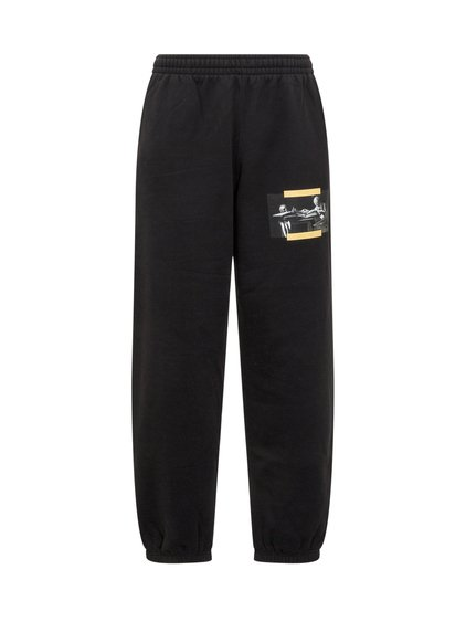 Suit Pant with Caravaggio Painting image