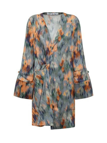 Dress With Arrows and Chine Flowers image
