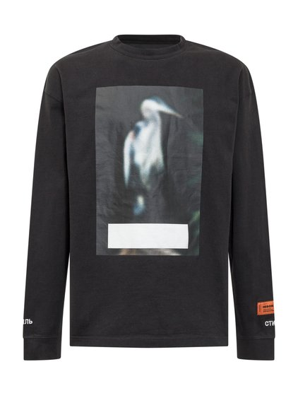 T-Shirt with Long Sleeves Censored image