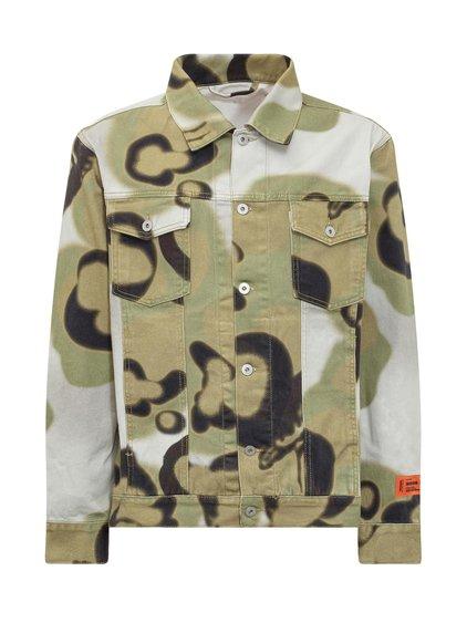 Denim Camouflage Jacket image