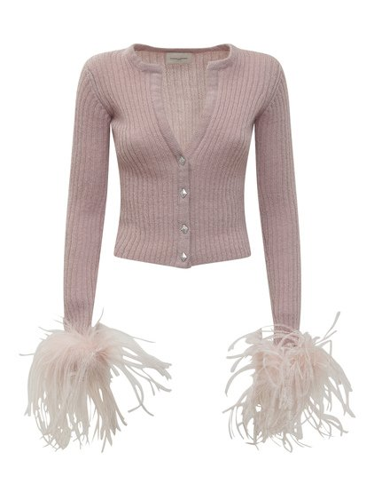 Knitwear with Feathers image