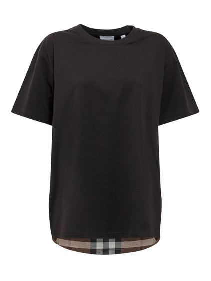 T-Shirt Checked Pattern image