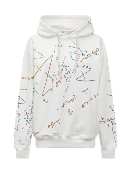 Hoodie with Colored Print image
