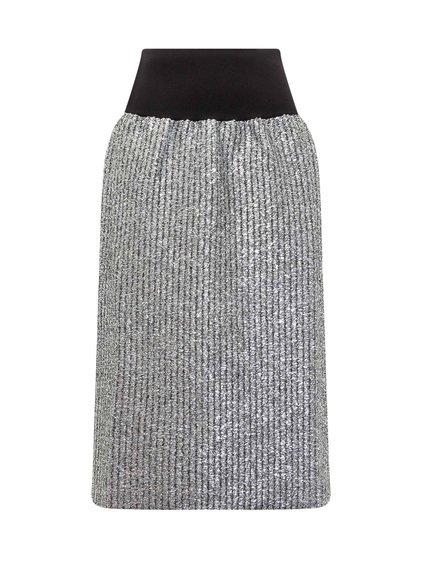 2 Moncler 1952 Metallic Skirt image