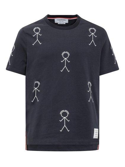 T-Shirt con Mr. Thom Icon All-Over image