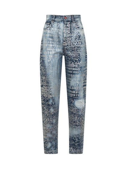 Jeans with All-Over Print image