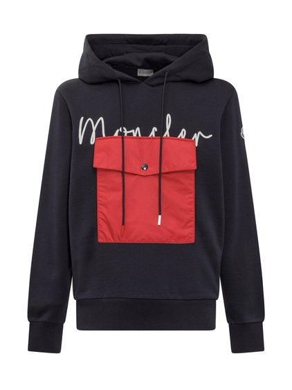 Hoodie with Pocket and Logo image
