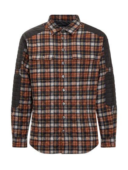 Padded Checked Shirt image