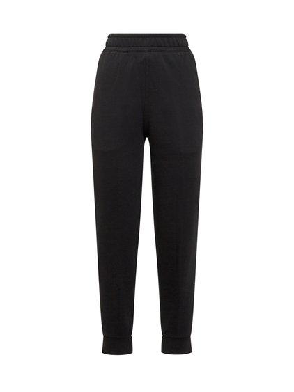 Jogging Pants with Tartan Pattern Inserts image