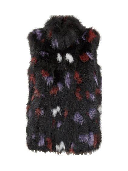 Lola Vest in Fox Fur image