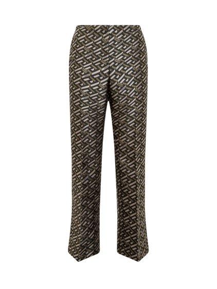 Trousers in Jacquard La Greca image