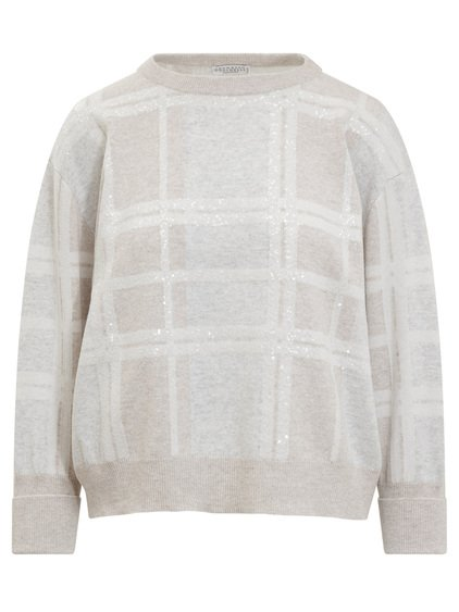 Crewneck Sweater with Sequin image
