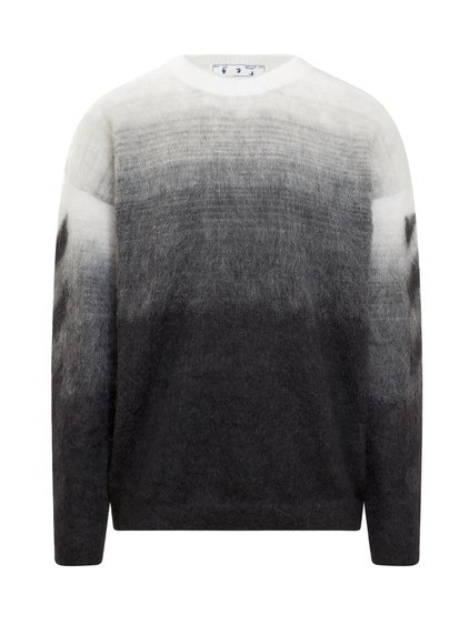 Diagonal Crewneck Sweater image