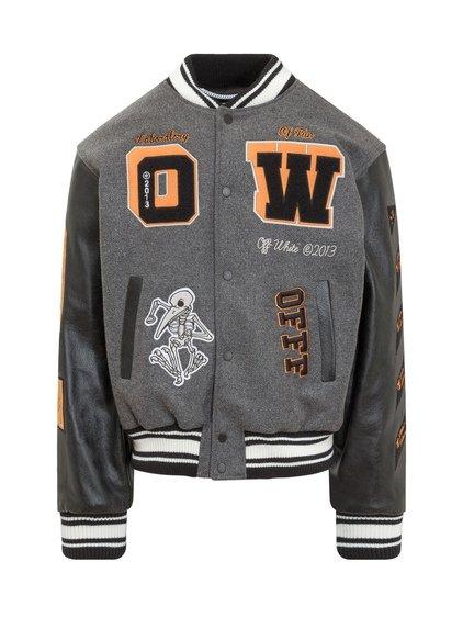 College Leather Jacket image